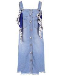Hellblauer Jeans Kleiderrock von Steve J & Yoni P / SJYP