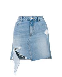 hellblauer Jeans Minirock von Sjyp