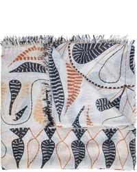 hellblauer leichter Schal von Figue