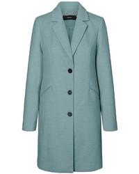 hellblauer Mantel von Vero Moda