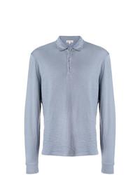 hellblauer Polo Pullover von Alex Mill