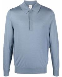 hellblauer Polo Pullover von Paul Smith