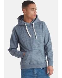 hellblauer Pullover mit einem Kapuze von BLEND