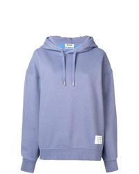 hellblauer Pullover mit einer Kapuze von Acne Studios