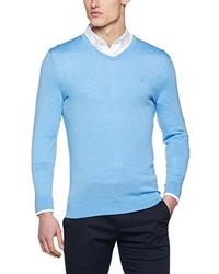 hellblauer Pullover von Calvin Klein