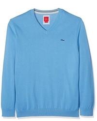 hellblauer Pullover von S.Oliver Big Size