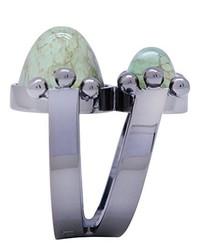 Hellblauer Ring von Moutton Collet