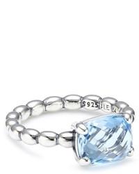 Hellblauer Ring von Pandora