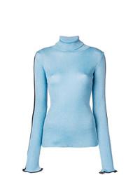 hellblauer Rollkragenpullover von Ssheena