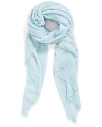 hellblauer Schal
