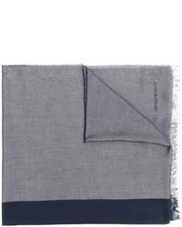hellblauer Schal von Emporio Armani