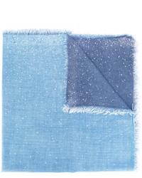 hellblauer Schal von Faliero Sarti
