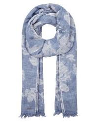 hellblauer Schal von Hugo Boss