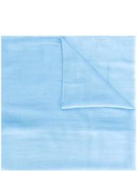 hellblauer Schal von Salvatore Ferragamo
