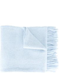 hellblauer Strick Wollschal von AMI Alexandre Mattiussi
