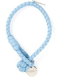 hellblaues Armband von Bottega Veneta