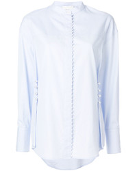 hellblaues besticktes Hemd von 3.1 Phillip Lim
