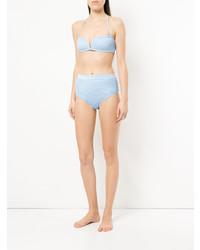 hellblaues Bikinioberteil von Suboo