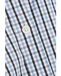 hellblaues Hemd mit Schottenmuster von Michael Kors