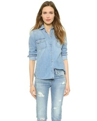 hellblaues Jeanshemd von AG Jeans