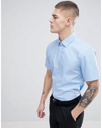 hellblaues Kurzarmhemd von Calvin Klein