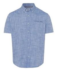 hellblaues Kurzarmhemd von Esprit