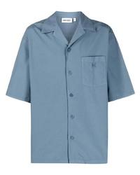 hellblaues Kurzarmhemd von Kenzo