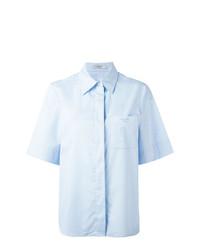 hellblaues Kurzarmhemd von Lanvin