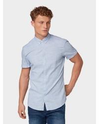 hellblaues Kurzarmhemd von Tom Tailor Denim