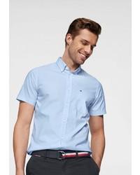 hellblaues Kurzarmhemd von Tommy Hilfiger