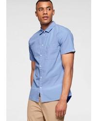 hellblaues Kurzarmhemd von Tommy Jeans