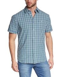 hellblaues Kurzarmhemd von Wrangler