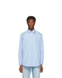 hellblaues Langarmhemd von Balenciaga