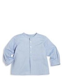 Hellblaues Langarmhemd von Bonpoint