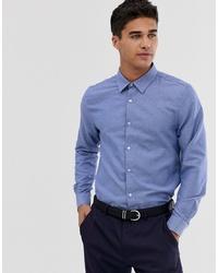 hellblaues Langarmhemd von Burton Menswear
