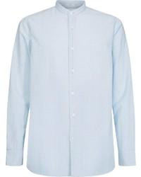 hellblaues Langarmhemd von Calvin Klein