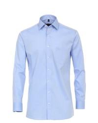hellblaues Langarmhemd von Casamoda
