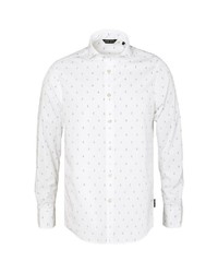 hellblaues Langarmhemd von CODE-ZERO