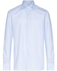 hellblaues Langarmhemd von Ermenegildo Zegna