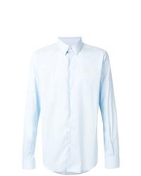 hellblaues Langarmhemd von Fashion Clinic Timeless
