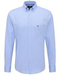 hellblaues Langarmhemd von Fynch Hatton