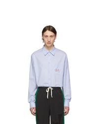 hellblaues Langarmhemd von Gucci