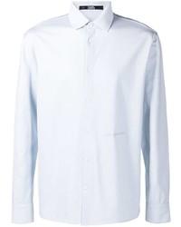 hellblaues Langarmhemd von Karl Lagerfeld