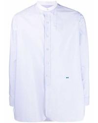 hellblaues Langarmhemd von Maison Margiela