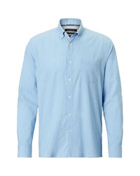 hellblaues Langarmhemd von Marc O'Polo