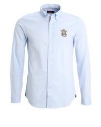 hellblaues Langarmhemd von Morris