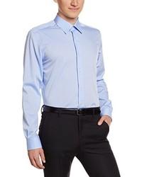 Hellblaues Langarmhemd von Pierre Clarence