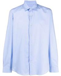 hellblaues Langarmhemd von Salvatore Ferragamo