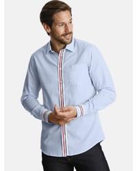 hellblaues Langarmhemd von SHIRTMASTER