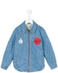 hellblaues Langarmhemd von Stella McCartney